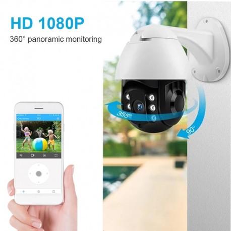 Caméra extérieur - étanche - wifi - 360° -