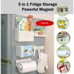 Support Ensemble De Rangement 5-En-1 Multifonctions Magnétique