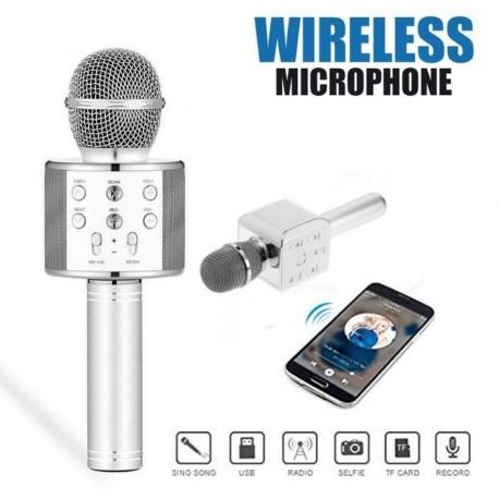 Microphone bluetooth karaoké